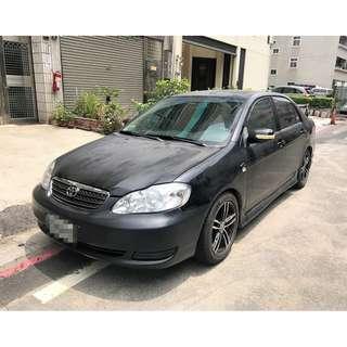 售自用車 2005年 豐田 altis 賣9.8萬