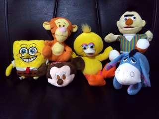 Mini stuffed toys bundle