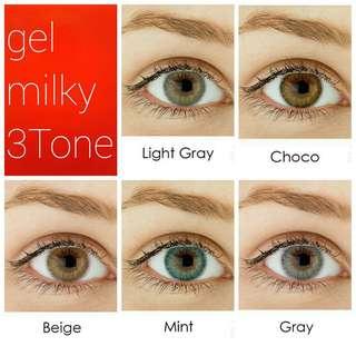 Softlens Gel Milky 3tone