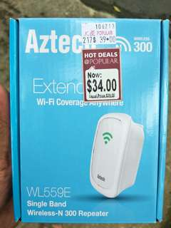 Aztech Wifi Repeater