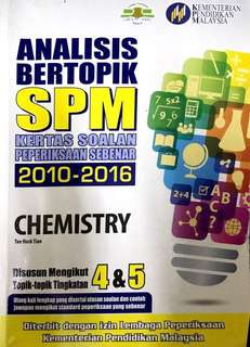 SPM Chemistry 2017 Exercise Books + Giveaway Chemistry Paper 3 Experiment Notes