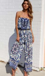 SeeBreez Summer Tube Jumpsuit