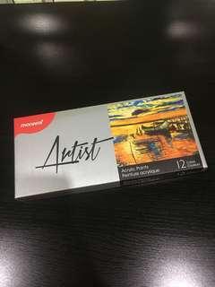 Monami artist acrylic paints