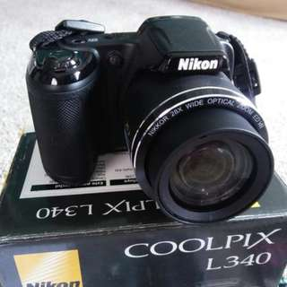 Nikon Coolpix L340 Digital Camera
