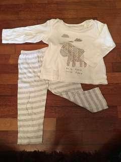 Mothercare pyjamas set 12-18months