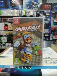 🆕 Nintendo Switch Overcooked ! Special Edition