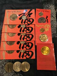 Sg  old coins 11pc offer  $28