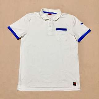 PUMA White Polo Shirt