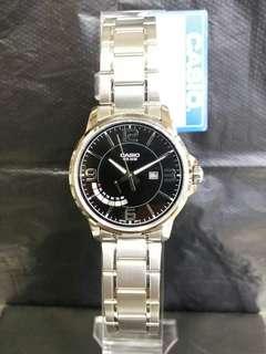 "MTP-E124D-1A卡西歐品牌手錶""Casio""日本機芯一年保養"