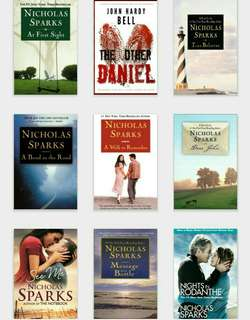 NICHOLAS SPARKS EBOOK COLLECTION