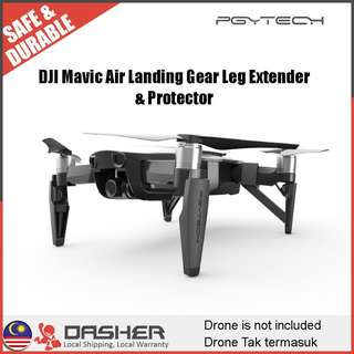 PGYTECH DJI Mavic Air Extended Landing Gear Leg Support Protector Extension