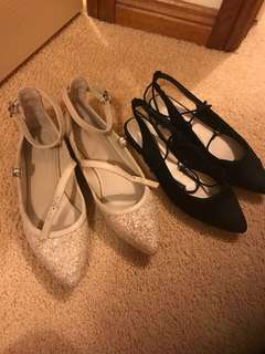2 pairs of Mimco shoes