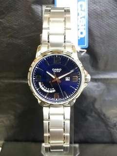 "MTP-E124D-2A卡西歐品牌手錶""Casio""日本機芯一年保養"
