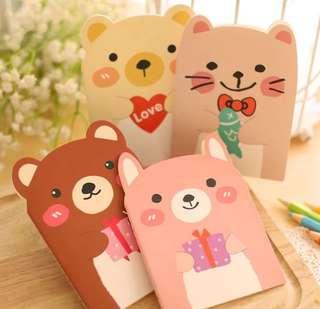 Bear note book