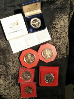 Sg old  coins  6pcs offer $108