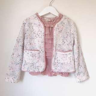 *NEW* Girls raffled Jacket + Top size 4-5