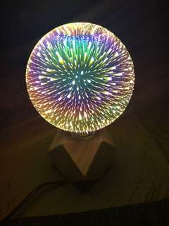 Magical light bulb with stand