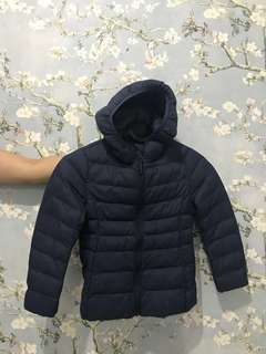 Uniqlo Down Jacket Anak Navy Blue