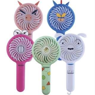 韓國代購🇰🇷超可愛蠟筆小新充電風扇  USB風扇