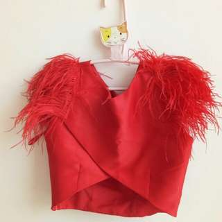 Due Dafe Feather Top