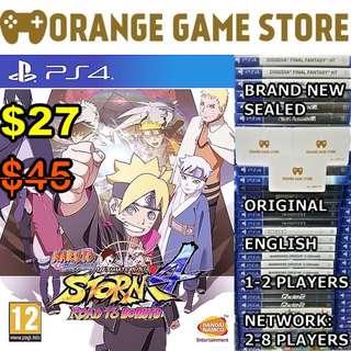 PS4 Naruto Shippuden 4: Road to Buruto