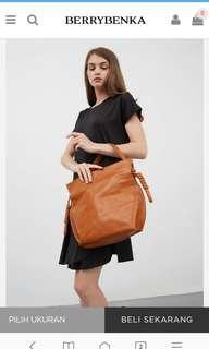 Berrybenka Innaya Brown shoulder bag (original)
