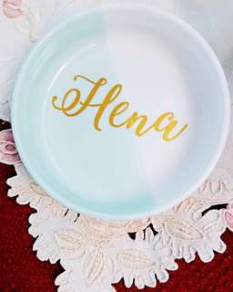 SOLD OUT! Customised Jewellery dish accessory dish for Bridesmaids gifts
