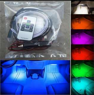 Lampu Led Dashboard Interior Mobil 20 warna