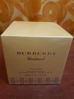 Perfume: Burberry weekend