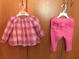 Authentic Baby Gap Tops & Pants Set