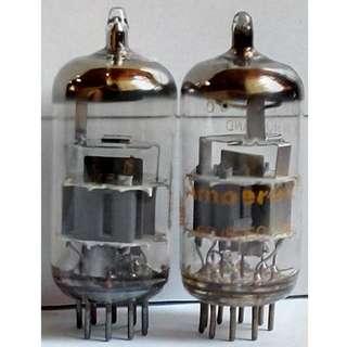 Holland Amperex 6DJ8 pair (ECC88) Vacuum Tubes