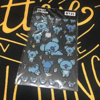 Sticker BT21 (KOYA)