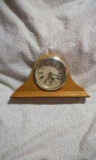 Vintage Wooden Napoleon Mantel Clock
