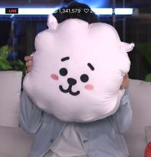 [INCOMING READY STOCK] BTS BT21 42CM RJ CUSHION