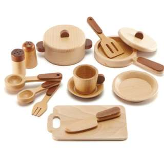 Magic Forest - Red Wood Kitchen Set