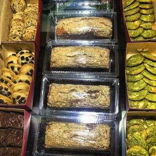 Oreo, Matcha, Choco fugde brownies