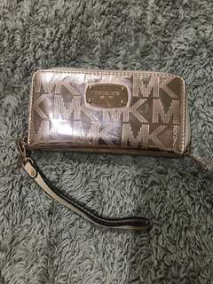 Michael Kors Rose gold wallet