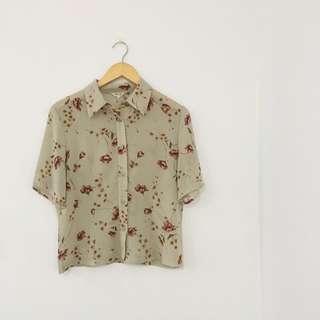 Floral Summer Shirt