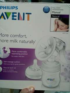 Avent natural breast pump