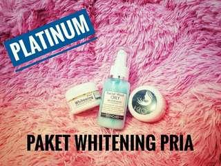 Paket whitening M (pria)