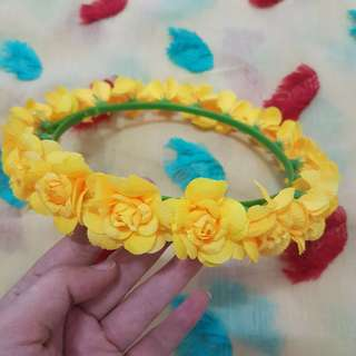 mahkota bunga / flower crown