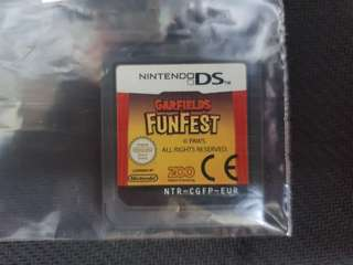 NDS Garfield Funfest (Used Game)