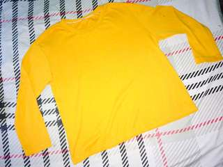 Mustard Long Sleeves