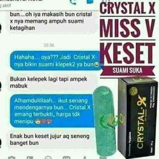 Crystal x  Ori 100%