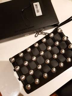 Alexander Wang cage clutch