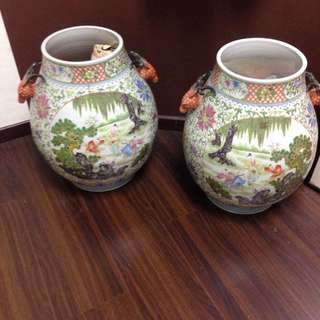 A Pair Of Old Chinese