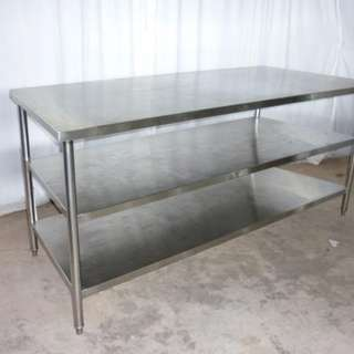 S/s table 5ft ,6ft , Table Top Chiller 5ft , // bubble tea, fruit juice, dessert shop , yellow box , pushcart for Rent 82232252