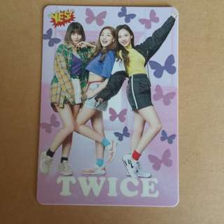 Twice Yes Card twice夜光卡