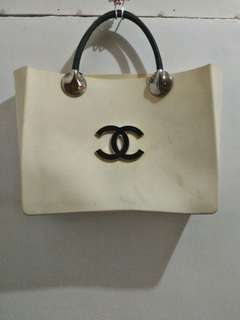 'Chanel' Jelly tote bag