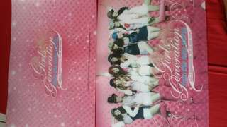 2 pcs Snsd 1st asia world tour solid file